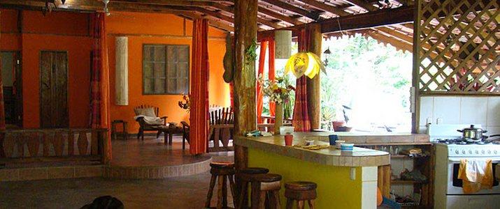 Casitas Moabi Caraïbes Sud Viejo de Talamanca Playa Cocles cuisine bar
