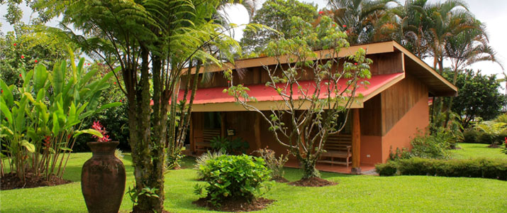 Catarata Ecolodge Arenal La Fortuna Volcan Nature Jardin