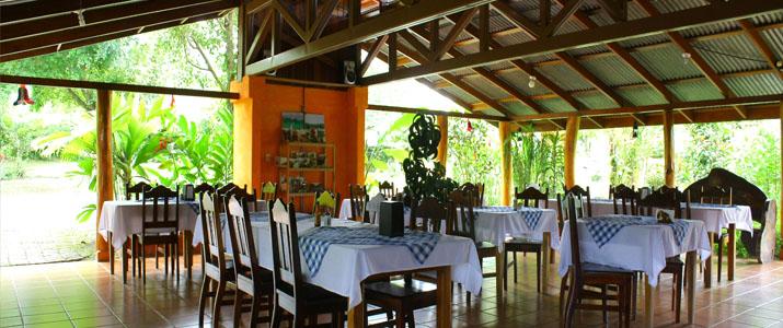 Catarata Ecolodge Arenal La Fortuna Volcan Nature Jardin Restaurant