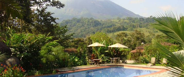 Kokoro Arenal La Fortuna Jardin Piscine Volcan