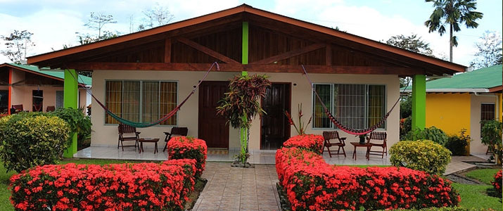 Villas Vilma Arenal La Fortuna Volcan Terrasse Bungalows