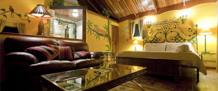 La Mansion Inn Nuevo Arenal Lac Volcan Chambre Lit Double