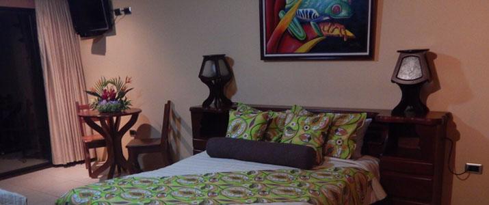 Hotel Linda Vista Norte Arenal La Fortuna El Castillo Volcan Chambre Double Lit