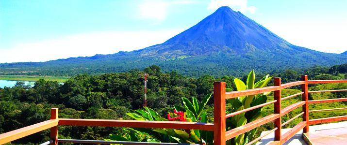 Hotel Linda Vista Norte Arenal La Fortuna El Castillo Volcan Lac Vue