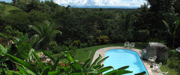 Cerro Lodge Pacifique Centre Hotel Costa Rica Vue Piscine