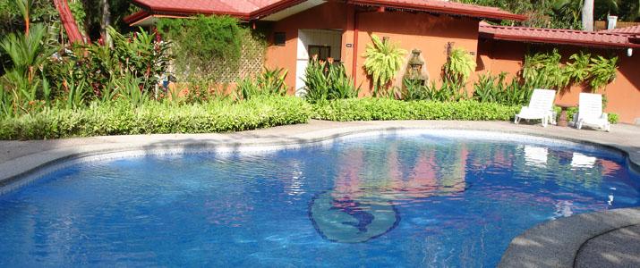 Cabinas Espadilla Hotel Costa Rica Pacifique Centre Piscine