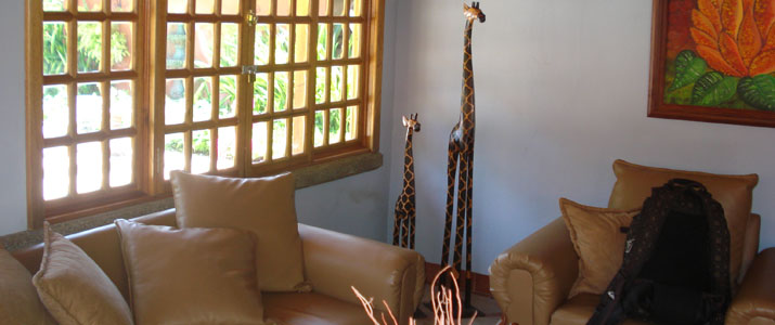 Cabinas Espadilla Hotel Costa Rica Pacifique Centre Réception
