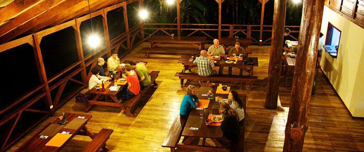 La Anita Rainforest Ranch Hotel Costa Rica Restaurant