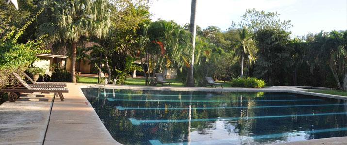 Hacienda La Pacifica Guanacaste Cañas piscine jardin tropical