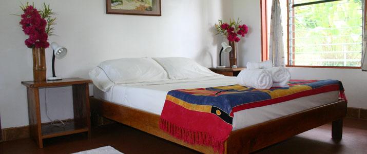 Diquis del sur Pacifique Sud Ojochal Costa Rica Hotel Chambre