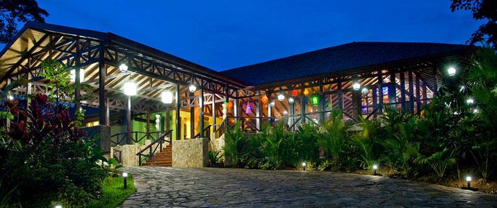 Rio Celeste Hideaway Hotel Costa Rica Nocturne