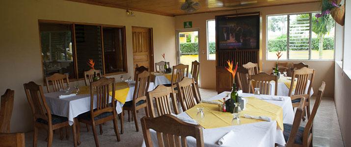 Yoko Termales Hotel Costa Rica Rincon Restaurant
