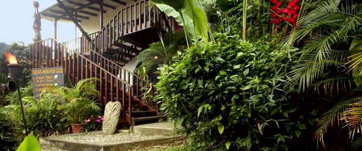 Vallée Orosi Lodge Turrialba Jardin Tropical