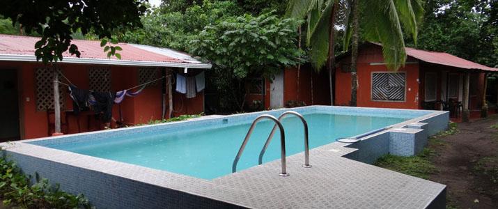 Hotel Don Quichotte Tortuguero Piscine détente bassin