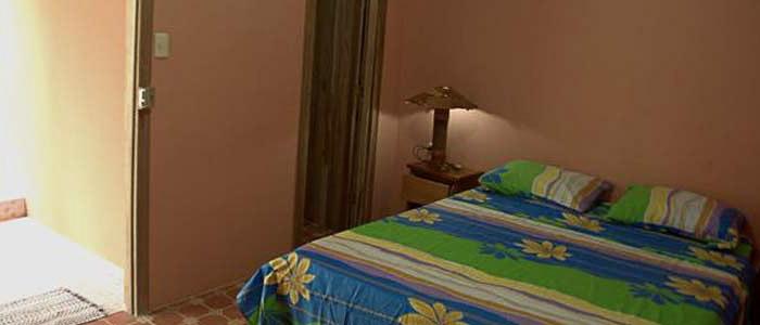Hotel Don Quichotte Tortuguero Chambre lit double
