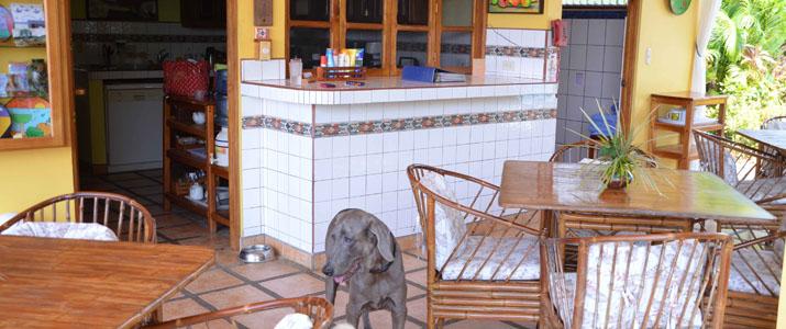 Vista Pacifico Terrasse Chaise Table Jaco Costa Rica Hotel