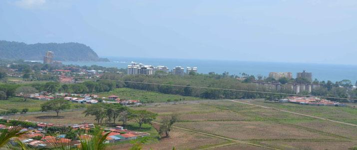 Vista Pacifico Vue panoramique Océan Hotel Jaco Costa Rica