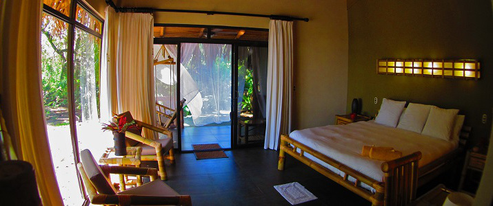 Clandestino Beach Resort Pacifique Centre Parrita Chambre Bambou