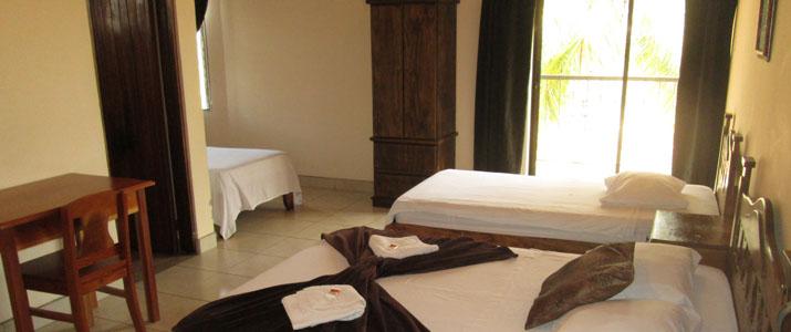 La Punta Puntarenas Hotel Costa Rica Chambre Lit Double