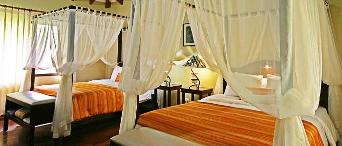 Manatus Tortuguero Chambre spacieuse lit double  suite moustiquaire
