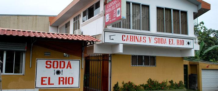 Cabinas y Soda El Rio La Fortuna Hotel Façade