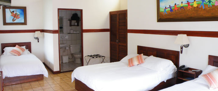 Hotel Playa Espadilla Pacifique Centre Costa Rica Hotel Chambre