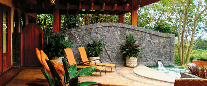 The Springs Resort & Spa Arenal La Fortuna Volcan Hotel Chambre Bassin eau thermale