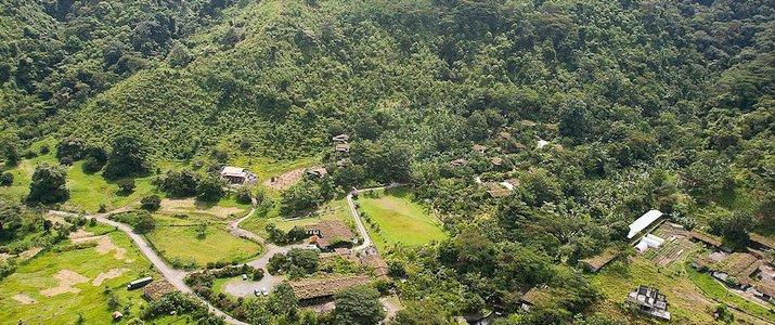 Rancho Margot Arenal El Castillo Volcan Vue Aérienne