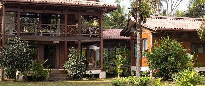 Kenaki Lodge Caraïbes Sud Cahuita hôtel bois