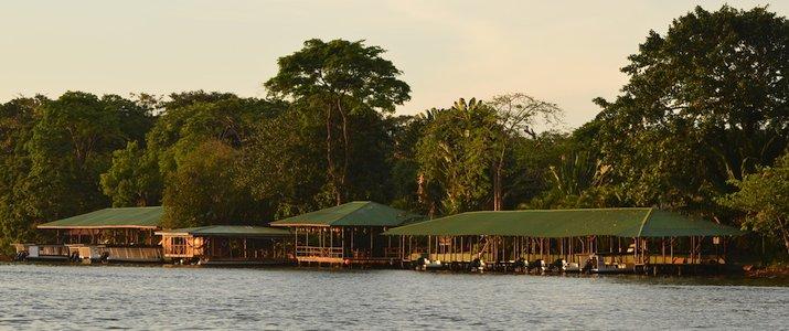 Mawamba Lodge Tortuguero Canal Vue