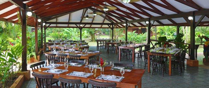 Mawamba Lodge Tortuguero restaurant