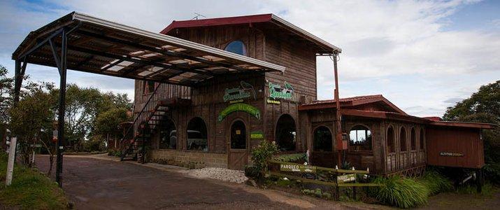 Paraiso Del Quetzal Hotel Costa Rica Cheminée