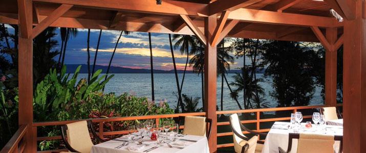 Playa Cativo Hotel Costa Rica Pacifique Sud Restaurant Vue Mer