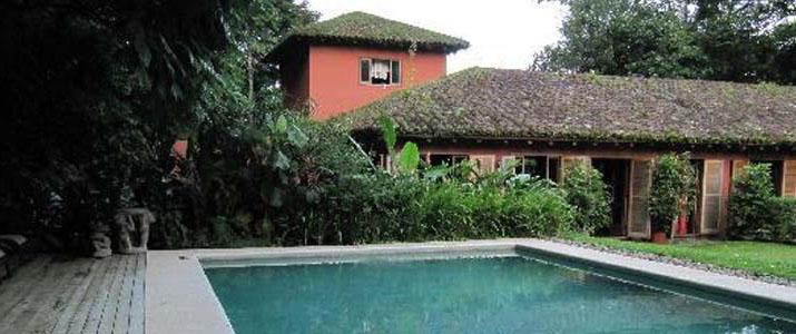 Hacienda La Isla Santa Clara Braulio Carrillo Puerto Viejo de Sarapiqui Las Horquetas Piscine