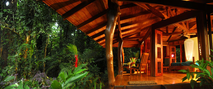 Playa Nicuesa Rainforest Lodge Hotel Pacifique Sud Costa Rica Terrasse