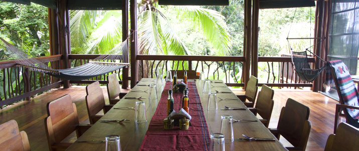 Playa Nicuesa Rainforest Lodge Hotel Pacifique Sud Costa Rica Restaurant