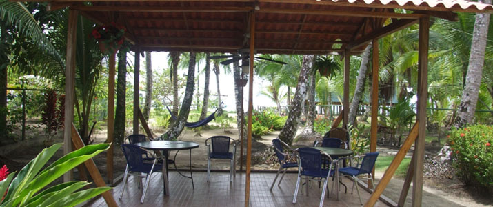 Tierra Verde Panama Bocas del Toro Almirante Isla Carenero Colon Caraïbes Sud Ponton Hamac Océan Rancho