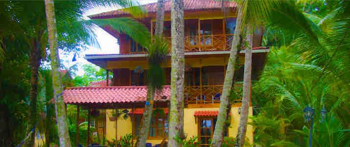 Tierra Verde Panama Bocas del Toro Almirante Isla Carenero Colon Caraïbes Sud Ponton Hamac Océan Hotel