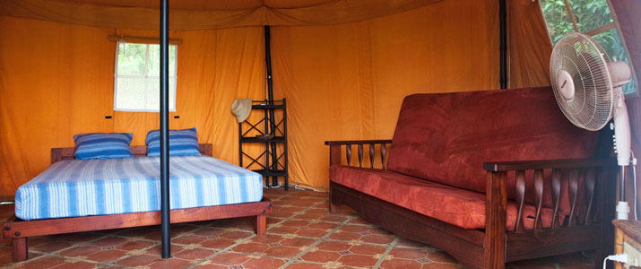 Rancho DiAndrew Uvita Pacifique Sud Costa Rica Hotel Chambre