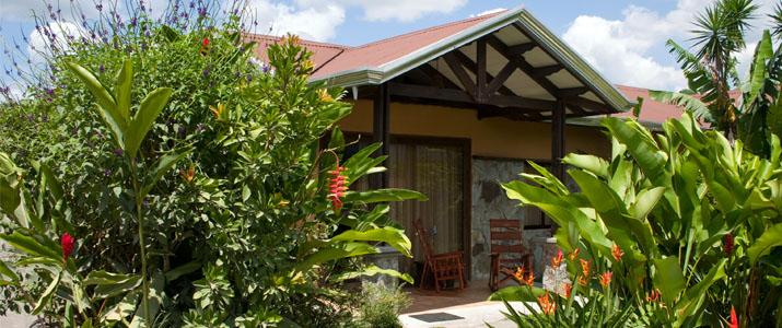 Arenal Spring Resort and Spa La Fortuna Volcan Hotel Cabinas Jardin Tropical