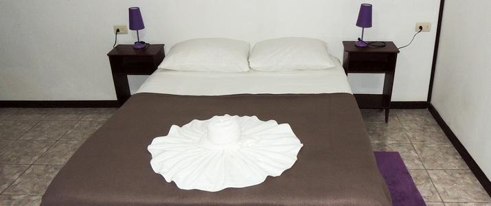 Aracari cabinas vue intérieur lit double