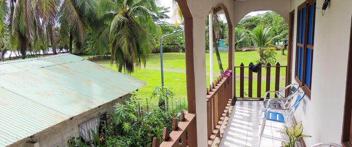 Tortuguero Natural vue de l'étage