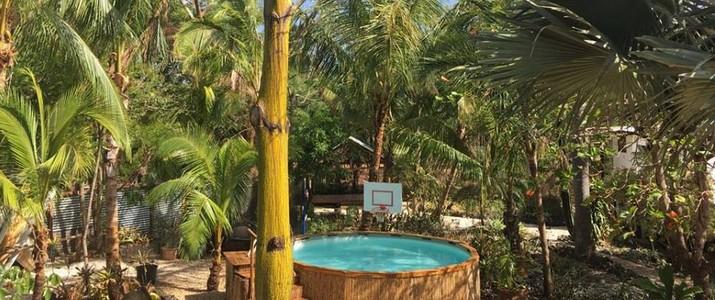 Rocky Point Surf Lodge Guanacaste Playa Negra Chambre en Bois