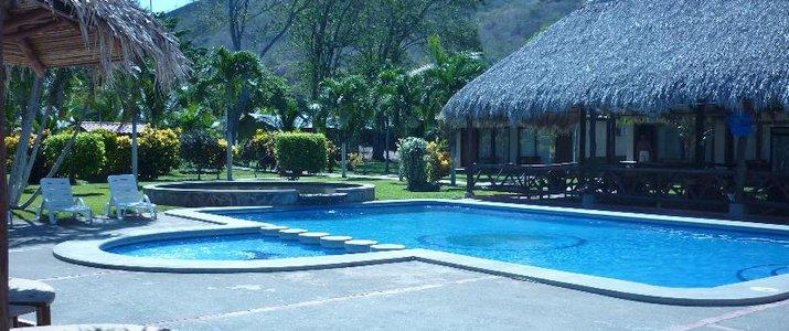 Guanacaste Lodge Guanacaste Playa Flamingo Piscine et rancho
