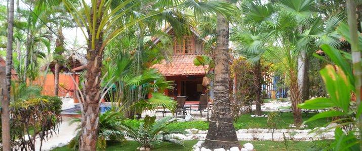 Hotel El Manglar Guanaste Playa Grande Jardin tropical