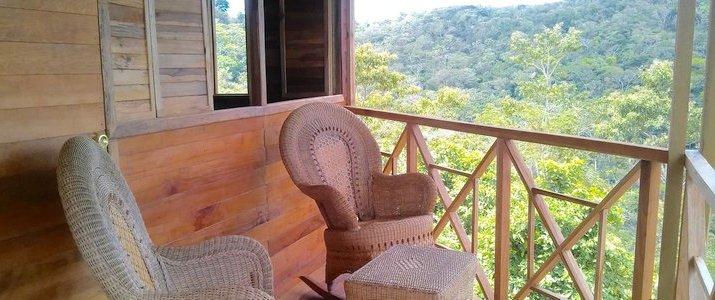 Tierra Madre Eco Lodge - Terrasse