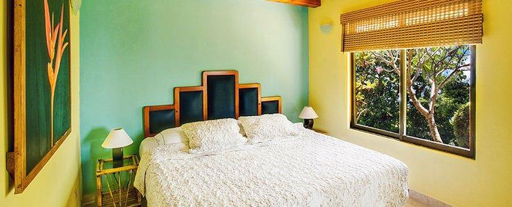 Villas Alturas - Chambre Double lit spacieux lumineux coloré
