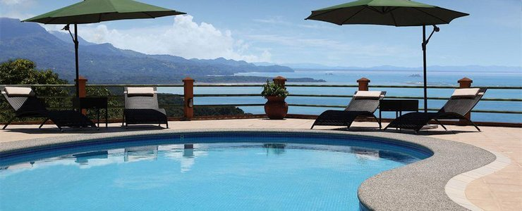 Villas Alturas - Piscine vue océan montagne baie mer surplombe
