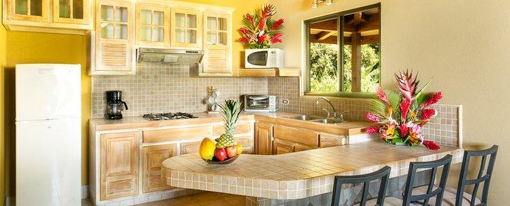 Villas Alturas - Cuisine vaste équipée