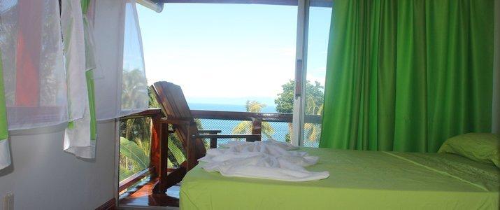 Cabinas Drake Corcovado - Cabinas Murillo - Chambre Osa Vue Panoramique Terasse Jungle